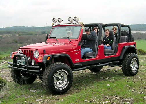 stretch four door jeep wrangler