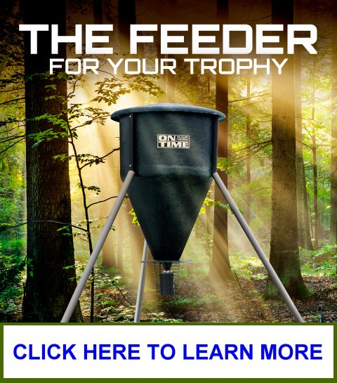 On Time Fiberglass             Hopper Wildlife Feeder