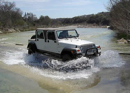4 door jeep wrangler pickup truck